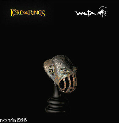 LORD OF THE RINGS ORC MUZZLE CAGE 1:4 Sideshow