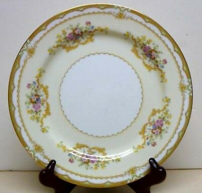 "Antique Noritake China -Muriel Pattern-Mark Year 1933-Dinner Plate-Sz-10""-Japan"