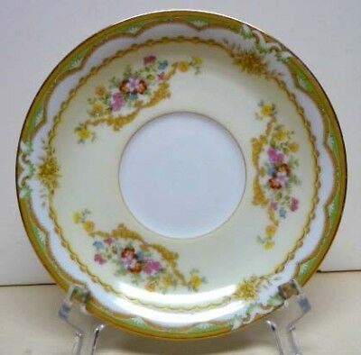 Antique-Noritake China -Pattern-Muriel-Mark Dated Year 1933- Saucer Only-Japan