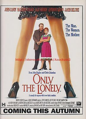Only The Lonely John Candy 1991 Magazine Advert #7689