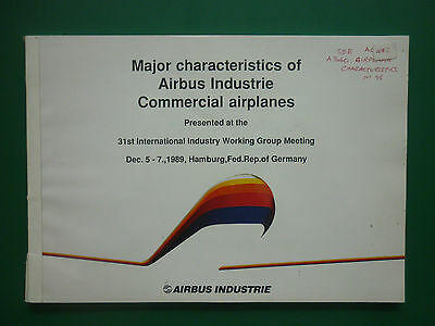 1989 Major Characteristics Of Airbus Industrie Commercial Airplane A321 A330.300