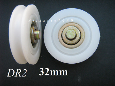 Sliding glass door security screen door rollers wheels Doric DR2 32mm *1 Pair HD