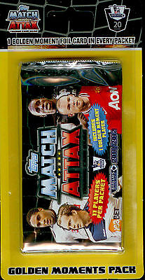 1000 packs of 2011/12 Topps Premier League Match Attax Golden Moment BlisterPack