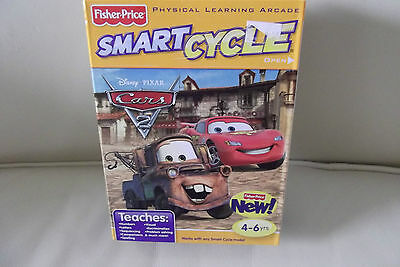 Fisher Price Interactive Smart Cycle Physical Learning Arcade Pixar CARS Game
