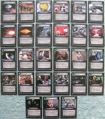 Star Trek CCG 2nd Edition (2E) Premiere Rare Card Selection [Part 1/4]