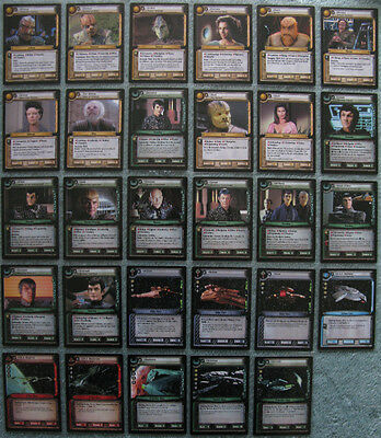 Star Trek CCG 2nd Edition (2E) Premiere Rare Card Selection [Part 4/4]