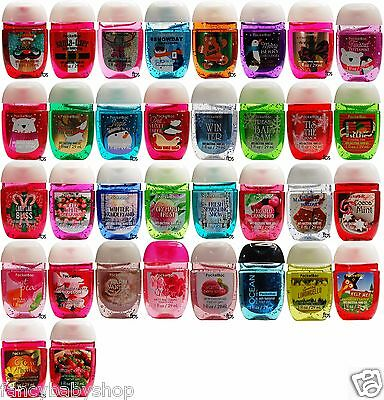 BATH BODY WORKS Anti-Bacterial Pocket Bac Gel Lot of 160 pcs Ship Worldwide