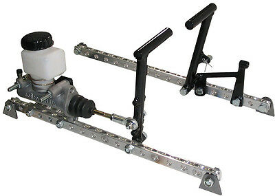 MICRO SPRINT GAS /& BRAKE PEDAL SYSTEM FOR MCP M//C,SAWYER,FACTOR 1,CONCEPT,BAILEY