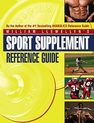 SPORT SUPPLEMENT Book by William Llewellyn #1 ANABOLICS REFERENCE GUIDE