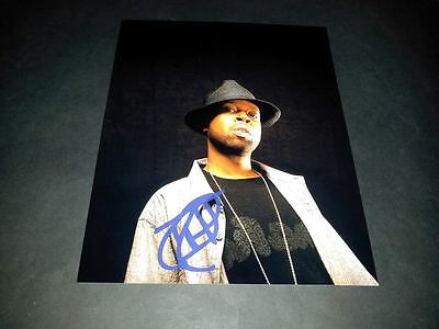 "J Dilla Pp Signed 10""x8"" Photo Repro Jay Dee Producer Rap Hip Hop"
