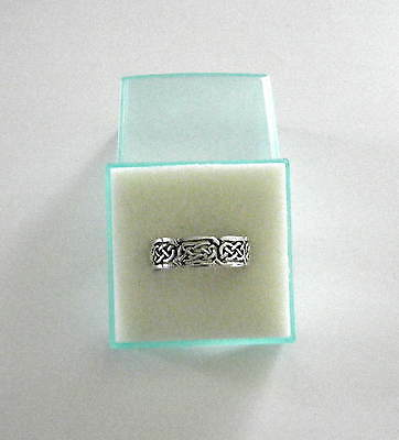 Celtic Sterling Silver .925 Celtic Ring. Great Deal!!! Size 11 New!