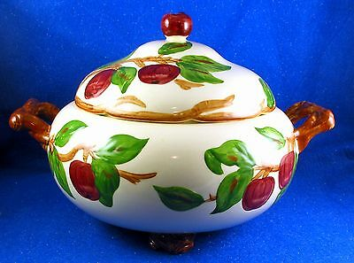 """Franciscan: """"Apple"""" Magnificent Large Soup Tureen Made in USA Pristine - Estate"""