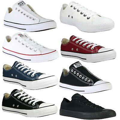 Converse Chucks All Star OX Canvas Schuhe Sneaker diverse Farben