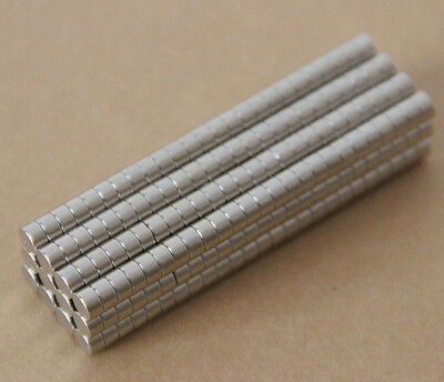 150pcs Neodymium Disc Mini 5mm X 3mm Rare Earth N35 Strong Magnets Craft Models