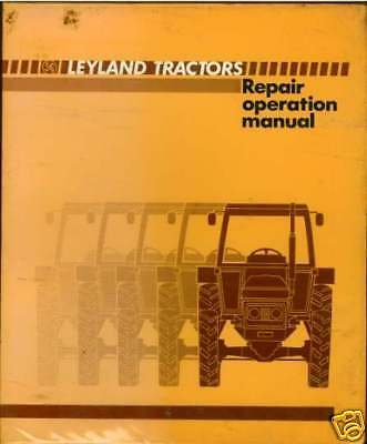 Leyland Marshall Tractor 602 604 702 704 802 804 Manual
