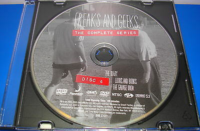 FREAKS AND GEEKS COMPLETE SERIES DISC 4 ONLY REPLACEMENT DISC