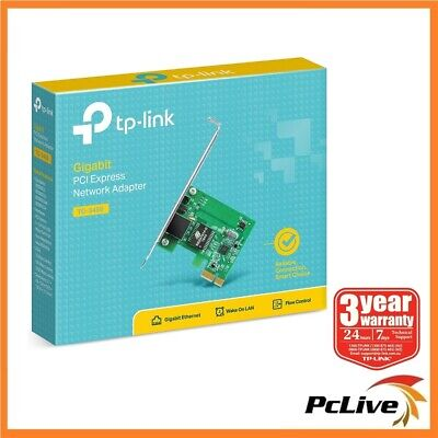 NEW TP-Link TG-3468 Gigabit 10/100/1000Mbps PCI-Express Network LAN Card Adapter