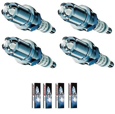 4 X Bosch Super 4 Spark Plugs Fits Renault Clio 2.0 16V 172 Sport / Cup 99-06