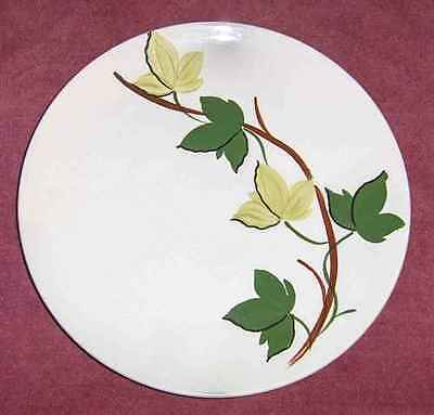 VINTAGE BLUE RIDGE POTTERY/SOUTHERN POTTERIES - PLANTATION IVY - LUNCH PLATE(s)