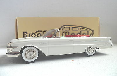 Brooklin Models BRK 75G 1960 Edsel Convertible 3rd collectors Guide (white ) MIB