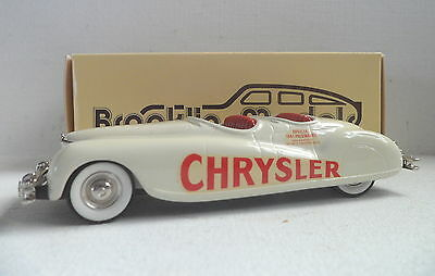 Brooklin Models BRK 8A 1941 Chrysler Newport Indianapolis  Pace Car (white)  MIB