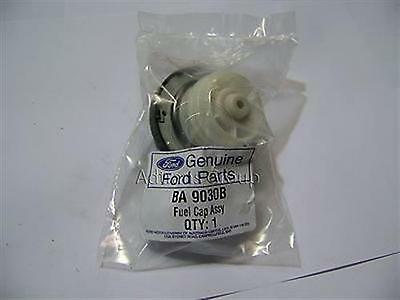 Genuine Ford Ba Bf Falcon Petrol Fuel Filler Cap Screw On Green Top Ba9030B