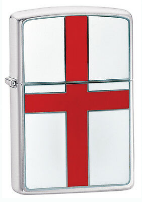Zippo Lighter England Flag St George Personalised Free