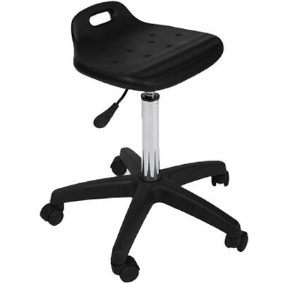 New Black All Purpose Durable Saddle Stool Tattoo Doctor Dentist Salon Equipment