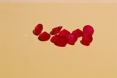 Natural Ruby Stones, Pinky Red, Round-Cut, NEW, 2.25mm to 3.44mm.LOWEST PRICE