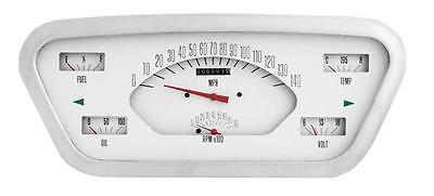 Classic Instruments 53 54 55 Ford F-100 Truck Gauge Panel Cluster Dash (White)