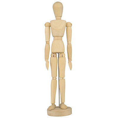 "16"" Artists Wooden Manikin Mannequin  Lay Figure ( Moveable / Bendy Man )"