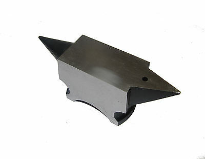 RDGTOOLS ALL PURPOSE ANVIL JEWELLERY MAKING 53MM X 28MM flat and round horns