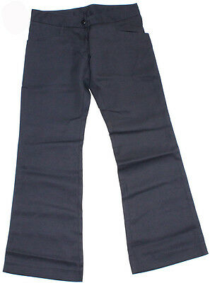 Girls School Pant Navy Scags Ladies Size 8 10 12 14 & 16 New Blue
