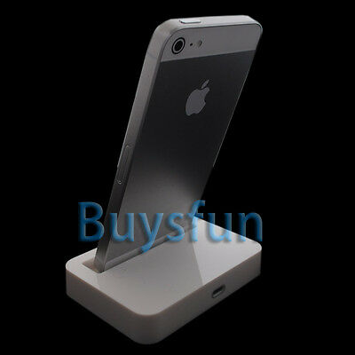 White Data Sync 8Pin Dock Charger Cradle Docking for Apple iPod Touch 5 5G