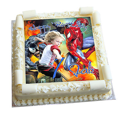 PERSONALISED EDIBLE IMAGES cake party birthday wedding event icing baby novelty