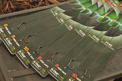Korda NEW DF Rig Ready Tied Carp Fishing Hair Rig x2 *All Sizes & Types*