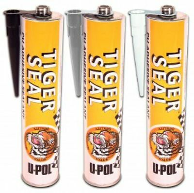 Upol Tiger Seal Adhesive Glue Black Sealant White Tigerseal Strong Window Grey