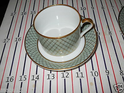 FITZ & FLOYD IMPERIAL DYNASTY CUP AND SAUCER
