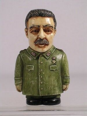 Harmony Kingdom Ball Pot Bellys Belly 'Joseph Stalin' #PBHJS2 RETIRED New In Box