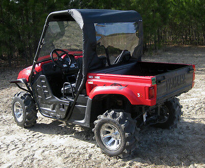 YAMAHA RHINO UTV SOFT TOP w/ REAR ENCLOSURE ALL YEARS 450 660 700
