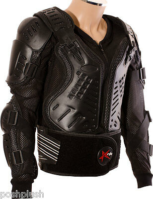 RTX CE Body Hard Armoured Protection Jacket Motorcycle Motorbike Motocross Biker