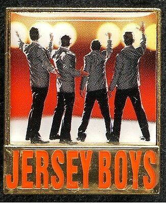 JERSEY BOYS BROADWAY SOUVENIR LAPEL PIN - JOYN LLOYD YOUNG