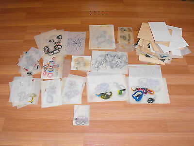 Old VTG Storybook Fairytale Character Animal Craft Pattern Stencil Crafting Lot