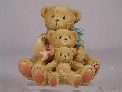 Cherished Teddies 'Theadore, Samatha & Tyler' Friends Come In All Sizes In Box
