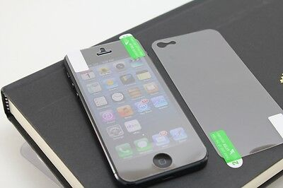 High Quality Set Of Front and Back Cover Clear Screen Protector for iPhone 5 5s