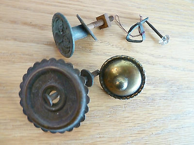Misc. Drawer Pulls + 1 Unknown