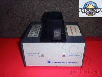 Alexander SM12000 SM 12000 Bendix King PRC-127 Smart Battery Charger