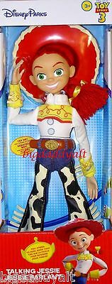 "New Disney Parks Original Toy Story Pull String 15"" Talking Jessie Cowgirl Doll"