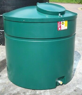 Ecosure 1320 Litre 1300 Ltr Vertical Bunded Domestic Heating Oil Tank Green