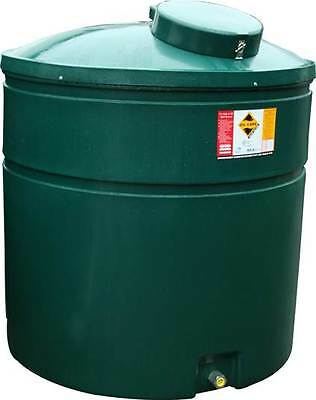 Ecosure 1500 Litre Bunded Domestic Heating Oil Tank Green Plastic